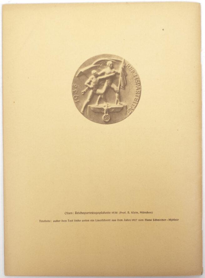 (Magazine) Der Schulungsbrief 8.u.9. Folge 1938