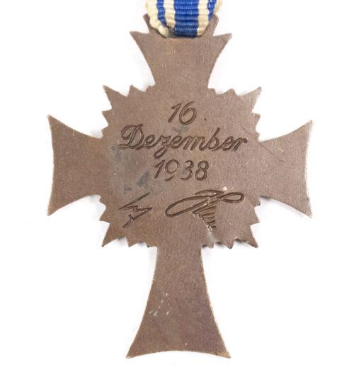 Mutterkreuz Motherscross bronze