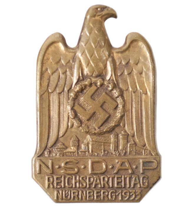 NSDAP Reichsparteitag 1933 Nürnberg Abzeichen
