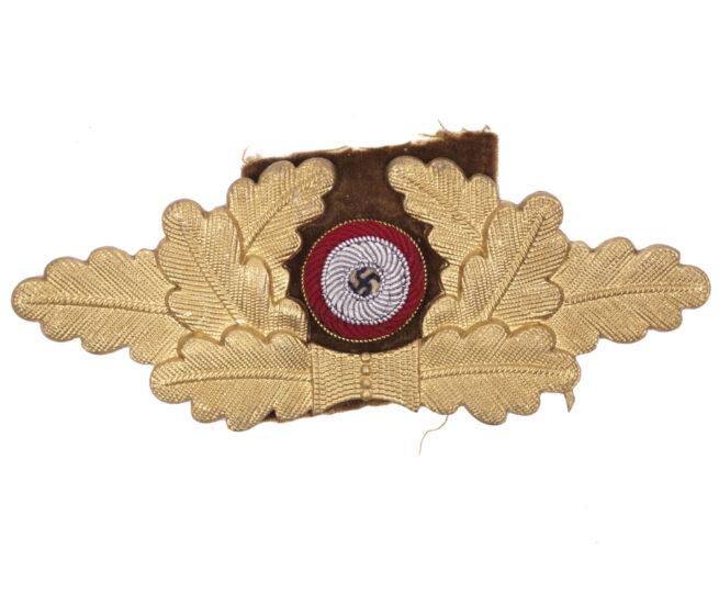 NSDAP visor cap cockarde with wreath