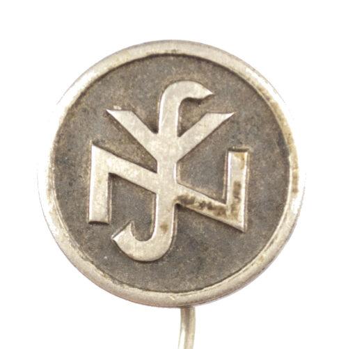 (NSV) Nationalsozialistische Volkswohlfahrt Memberpin (RZM 76 marked)