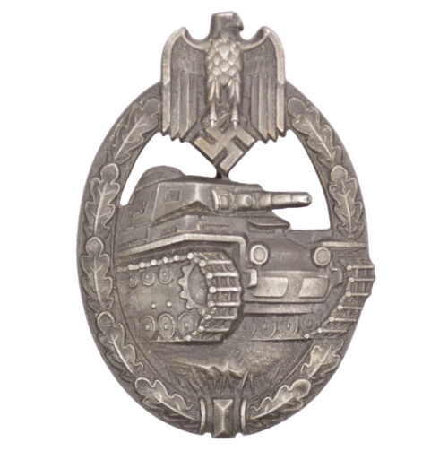 Panzerkampfabzeichen (PKA) Panzer Assault badge (PAB) bronze maker S&L