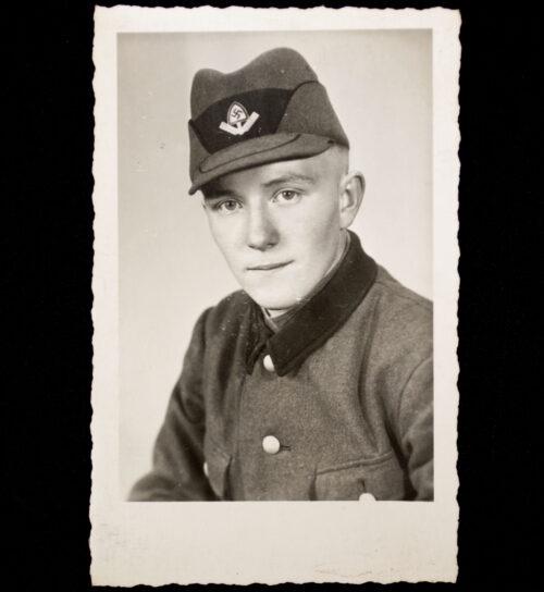 (PhotoPostcard) Reichsarbeitsdienst (RAD) Rad Mann