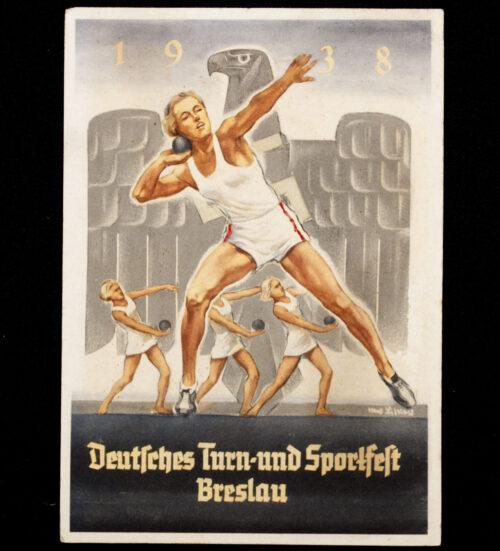 (Postard) Deutsches Turn- und Sportfest Breslau