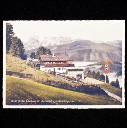 (Postcard) Adolf Hitlers Landhaus am Obersalzberg bei Berchtesgaden