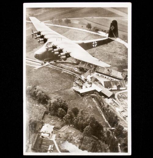 (Postcard) Airplane Gigant