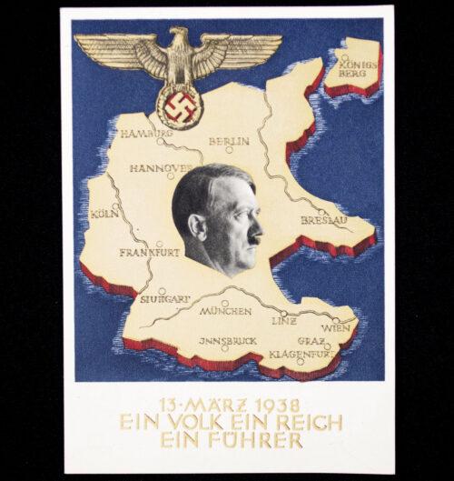 (Postcard) Annexation Austria Anschluss (1938)