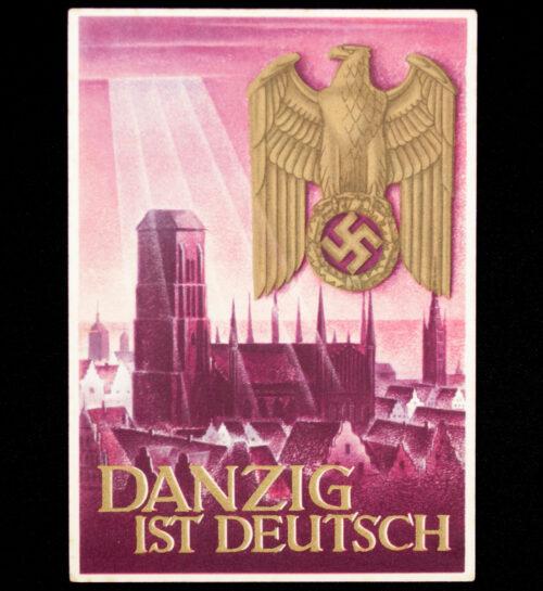 (Postcard) Danzig ist Deutsch)