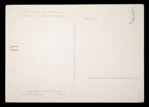 (Postcard) Das Bild des Krieges - Ausstellung des Luftgaukommandos IX