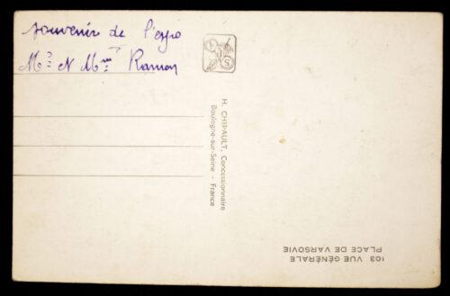 (Postcard) Exposition Internationale Paris 1937