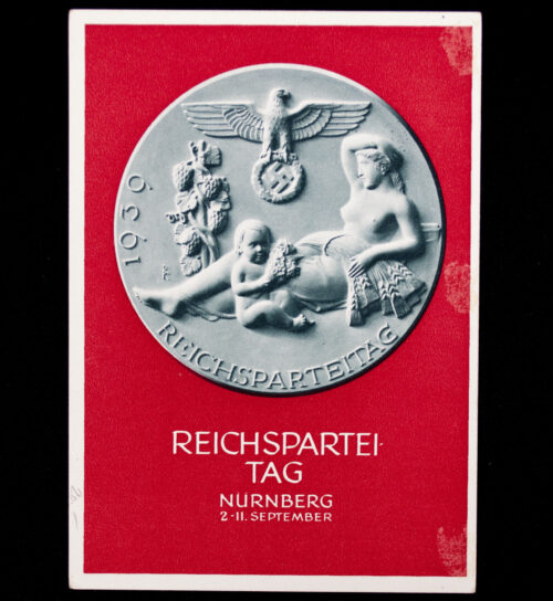 (Postcard) Reichsparteitag 1939 (Postally sent)