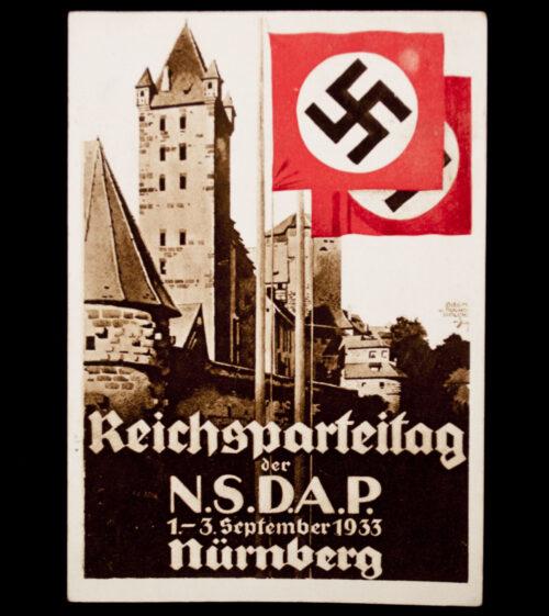 (Postcard) Reichsparteitag der NSDAP 1.-3. September 1933 Nürnberg