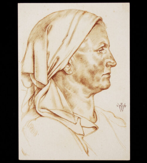 (Postcard) W. Willrich – Förtersfrau aus dem Buchenland