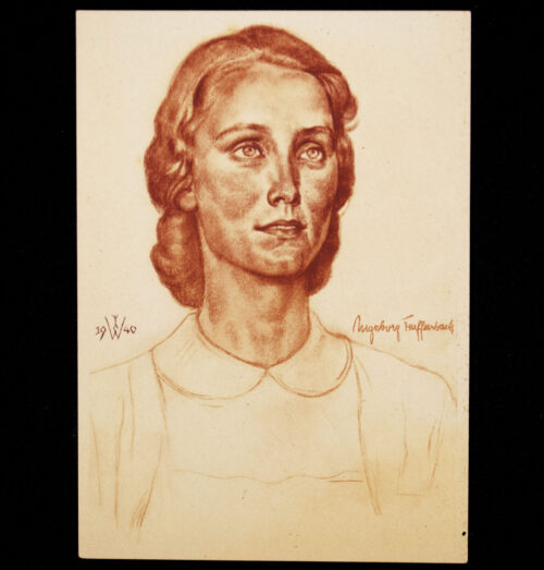 (Postcard) W. Willrich - Ingeborg Teuffenbach