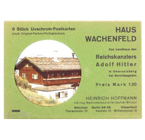 (Postcard map) Haus Wachenfeld - 6 Stück Uvachrom-Postkarten