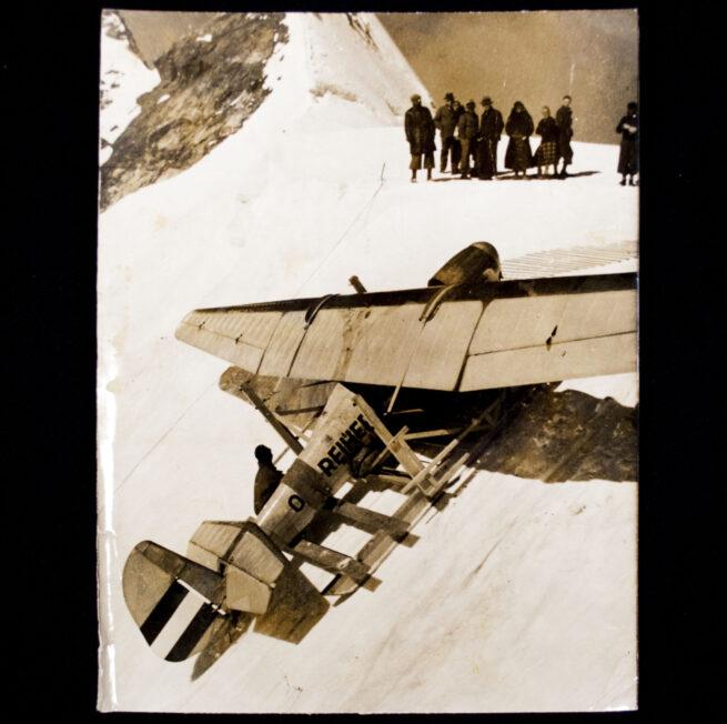(Pressphoto) Segelfliegerlager auf dem Jungfraujoch (1935)