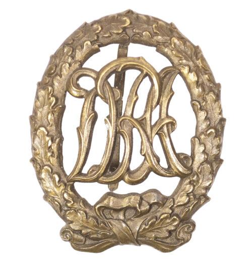 Sportabzeichen DRA (Deutscher Reichsausschuss für Leibesübungen) in Bronze