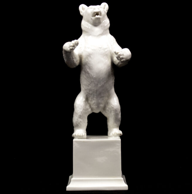 The SS Allach Porcelain bear, also called the Berlin Bear, was often given to dignitaries visiting Berlin.
