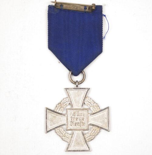 Treue Dienst 25 Jahre Kreuz Loyal Service 25 Years Cross