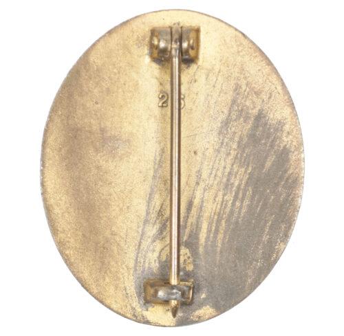 Verwundetenabzeichen in gold Woundbadge gold (maker 26 B.H. Mayer)