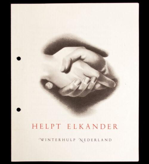 (WHN) Winterhulp Nederland - Helpt Elkander flyer
