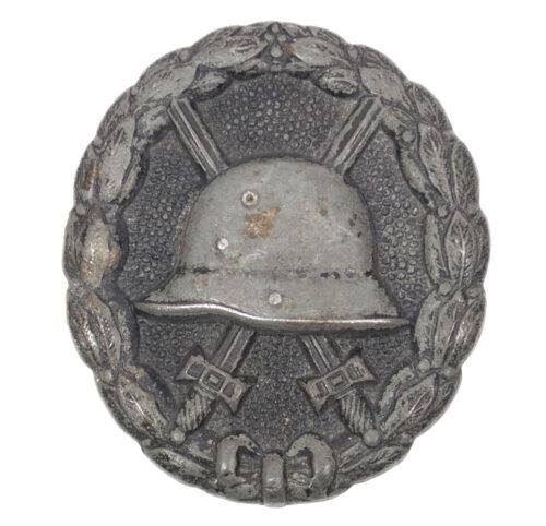 WWI Verwundetenabzeichen in Schwarz Woundbadge black