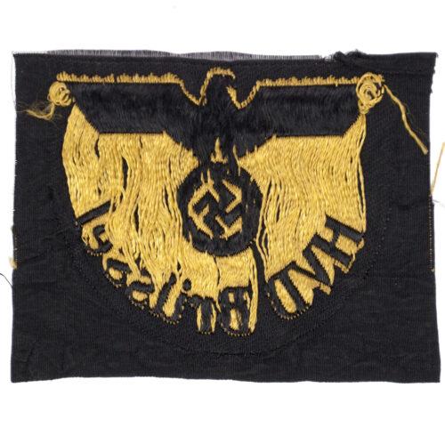 WWII Railway Hauptverkehrsdirektion Sleeve Eagle - HVD Brussel
