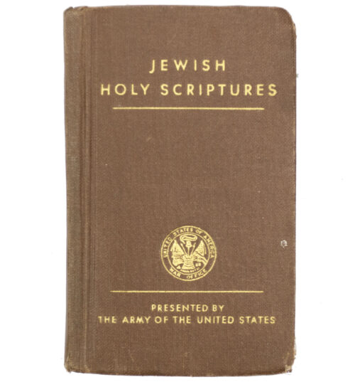 WWII USA - Jewish Holy Scriptures