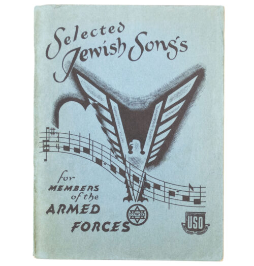 WWII USA - Selected Jewish Songs for members of the Armed Forces