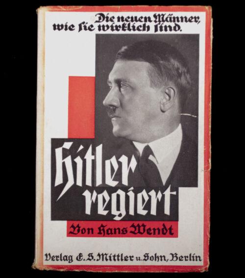 (Book) Hans Wendt - Hitler regiert - Die neuen Männer wie Sie wirklich sind (1933)
