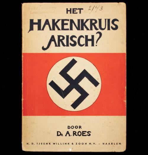 (Book) Het hakenkruis arisch (1934)