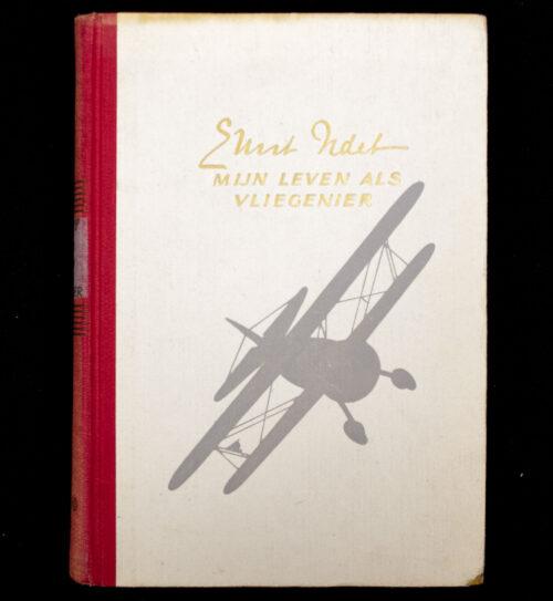 (Book NSB) Ernst Udet - Mijn leven als vliegenier (1943)
