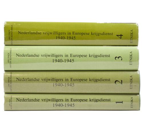 (Book) Nederlandse vrijwilligers in Europese krijgsdienst 1940-1945 (Four books)