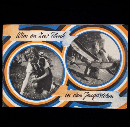 (Brochure NSB) Wim en Zus Flink in den Jeugstorm