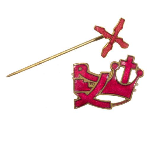 (Belgium) Rex party badge