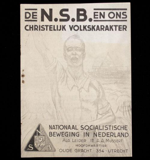 De NSB en ons christelijk volkskarakter