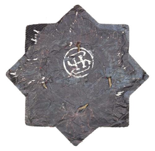 Deutsches Kreuz in Gold (DKIG) cloth version by maker Hermann Schmuck & Cie.