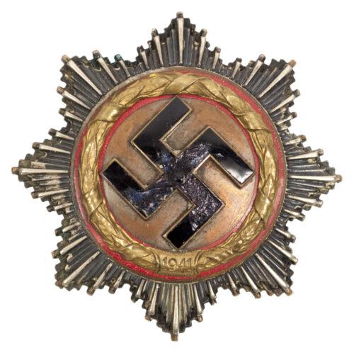 Deutsches Kreuz in Gold (DKIG) maker C.E. Juncker + etui