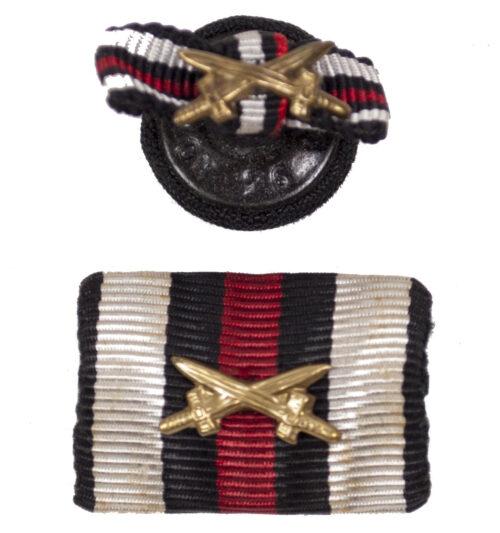 Frontkämpfer Ehrenkreuz single ribbon + buttonhole ribbon