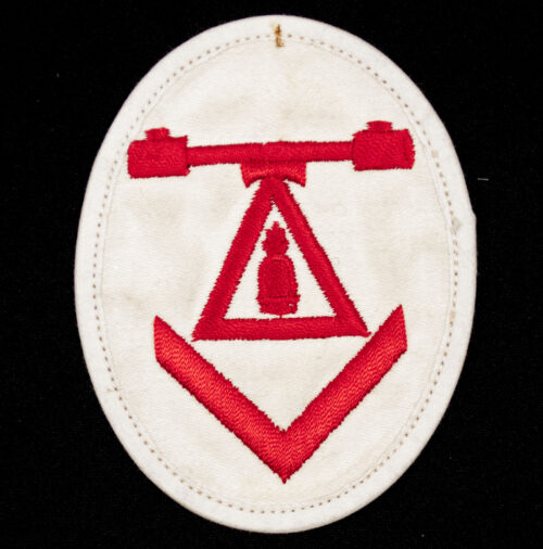 Kriegsmarine Ärmelabzeichen Entfernungsmesser mit Fla E.Messausbildung