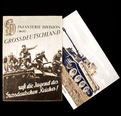 (Magazine) Infanterie Division (Mot.) Grossdeutschland ruft die Jugend des Grossdeutschen Reiches! (including the rare extra sheeth!)