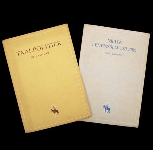 (NSB) 2 publications by The Schouw Henri Bruning Nieuw Levensbewustzijn + Dr. J. van Ham Taalpolitiek