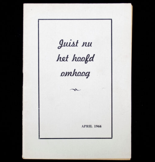 (NSB) A. Mussert - Juist nu het hoofd omhoog (1944)