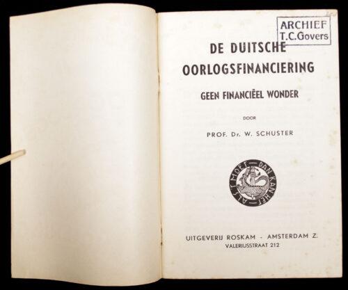 (NSB) De Duitsche Oorlogs Financiering (1940)