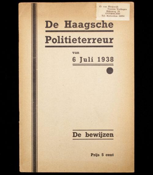 (NSB) De Haagsche Politieterreur van 6 juli 1938