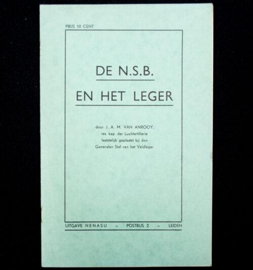 (NSB) De NSB en het leger (1940)