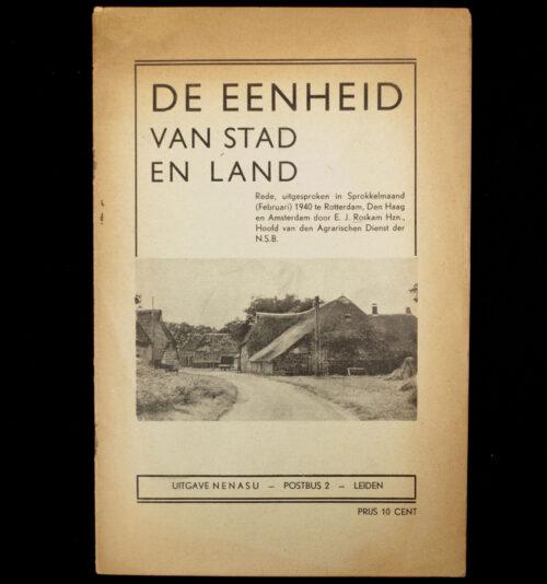 (NSB) De eenheid van stad en land (1940)
