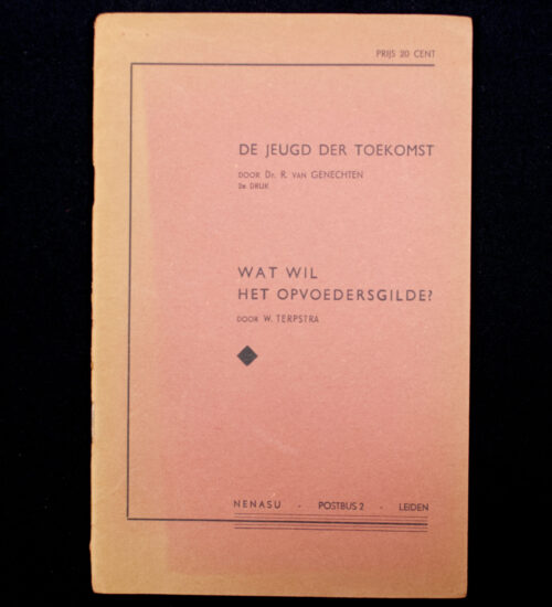 (NSB) De jeugd der toekomst Wat Wil het Opvoedersgilde (1940) 2st edition