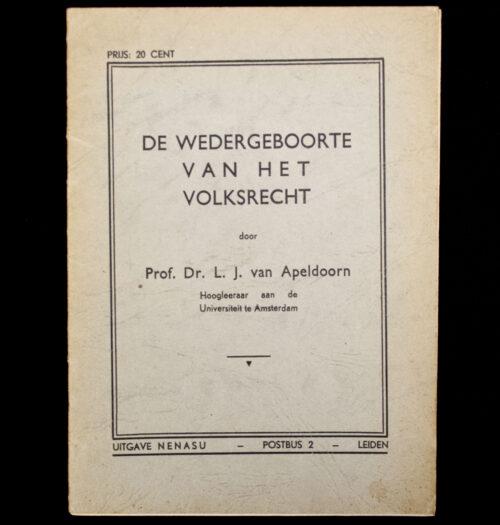 (NSB) De wedergeboorte van het Volksrecht (1940)