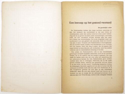 (NSB) Een beroep op het gezond verstand (yellow edition) (1941)